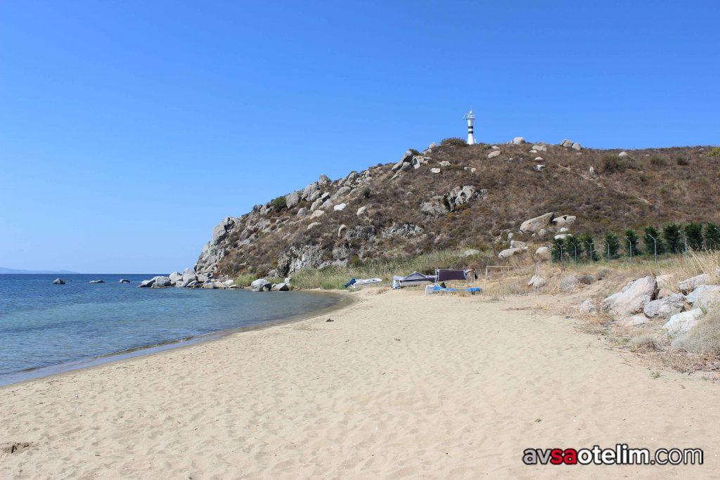 Avşa Adası Kumtur Koyu Plajı