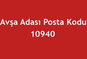 Avşa Adası Posta Kodu
