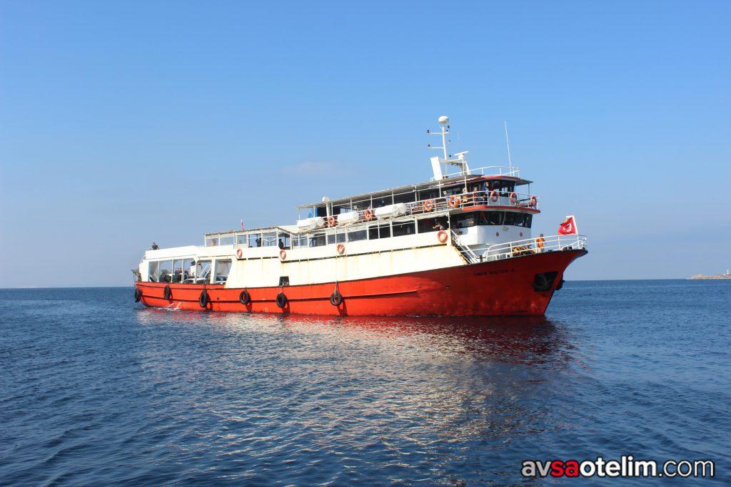 Tekirdağ Avşa Adası Ömer Kaptan Feribot Seferleri