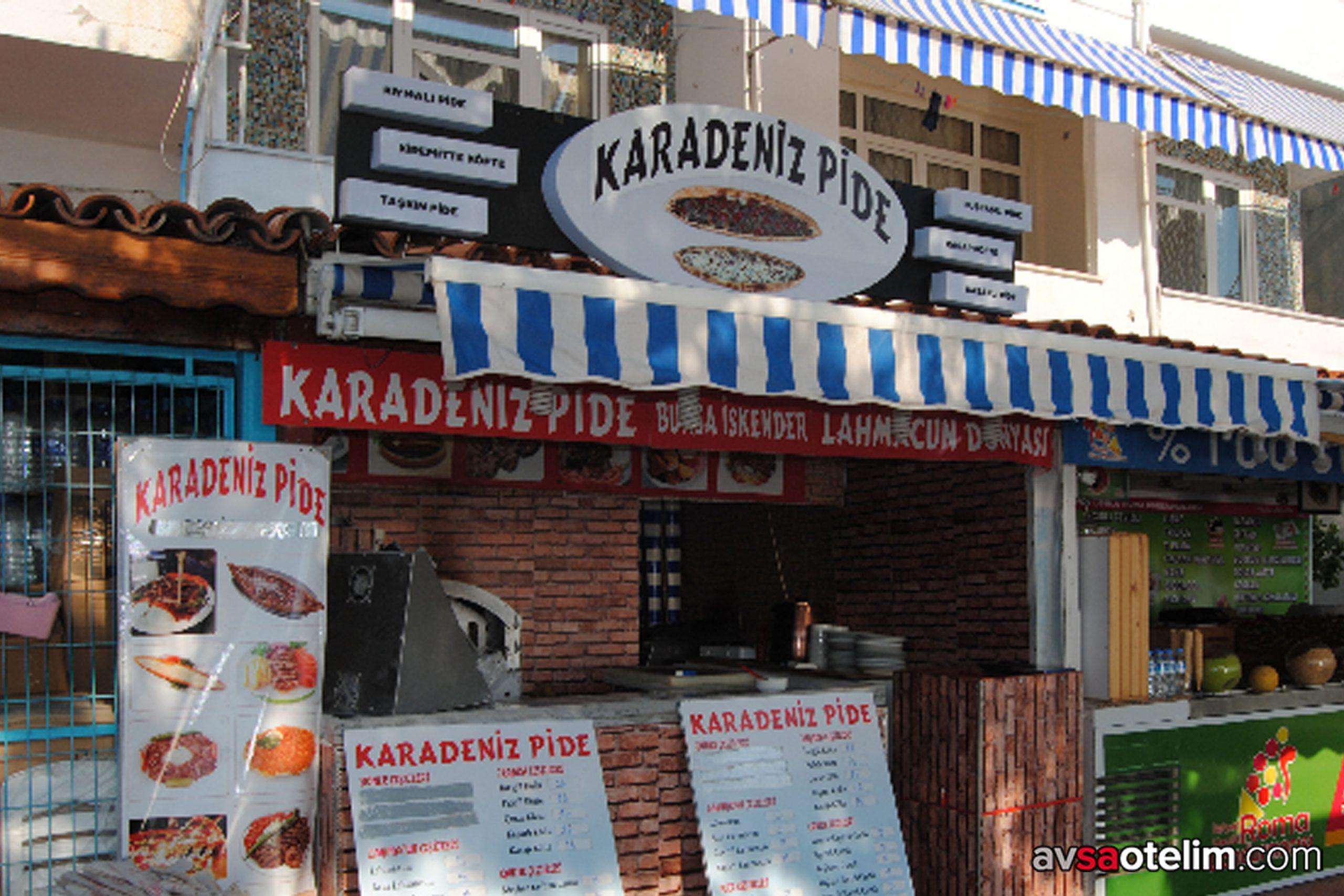 Avşa Adası Karadeniz Pide Restoran